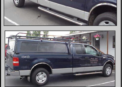 JOB MASTER .0400 Aluminum Canopy GRAUB RACK Convertible Entire Rack Removes from Bed Rail - 04 Ford F150 Long Bed